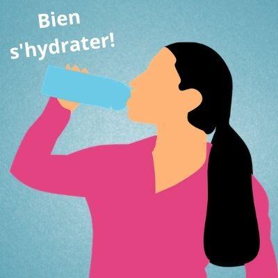 Boire beaucoup d'eau contre les rides
