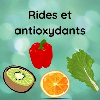 Les aliments antioxydants contre les rides