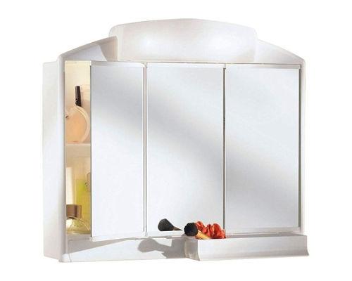 Armoire avec 3 miroirs pour la salle de bain