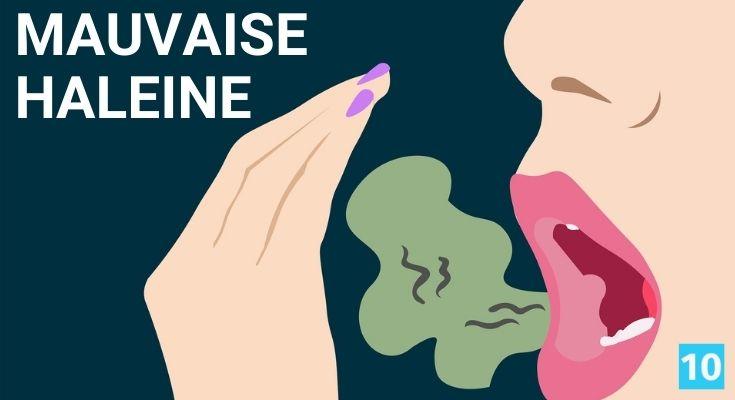 Remède naturel contre la mauvaise haleine