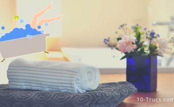 bain relaxant à la maison