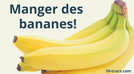 Une banane pour stopper la diarrhée
