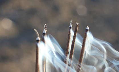 bâton d'encens, un anti guepe naturel