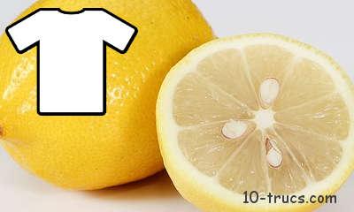 blanchir le linge avec du jus citron