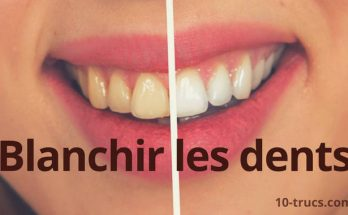 comment blanchir les dents