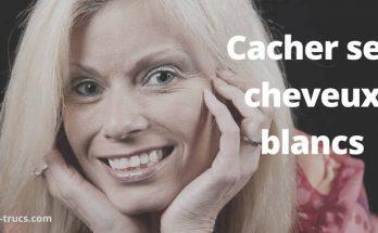 cacher ses cheveux blancs