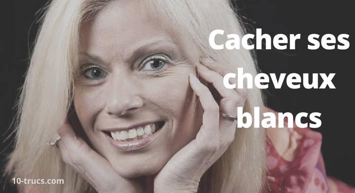 cacher les cheveux blancs