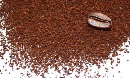 Répulsif anti guêpe avec du café moulu
