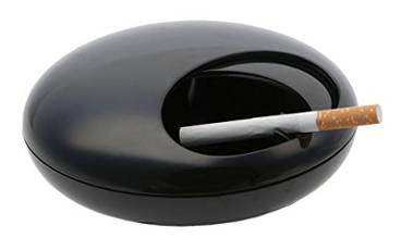 cendrier avec couvercle en mélamine et anti odeur de tabac