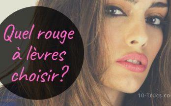 Quelle couleur choisir pour son rouge à lèvres