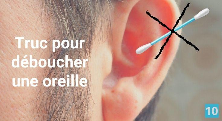 Comment déboucher les oreilles?
