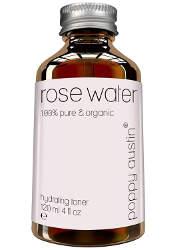 eau de rose bio et naturel pour les soins de la peau