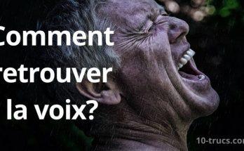 extinction de voix remède de grand-mère