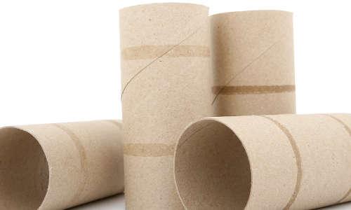 fabriquer un piège à souris avec un rouleau de papier de toilette