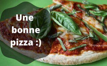 comment faire une bonne pizza maison
