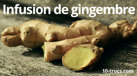 soigner un mal de gorge avec du gingembre