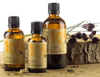 huile essentielle d'arbre a thé pour la peau