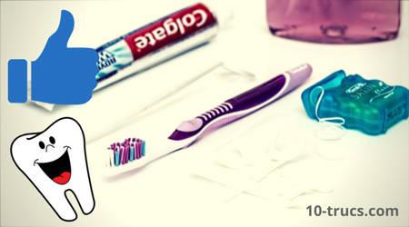 une bonne hygiène dentaire pour blanchir les dents