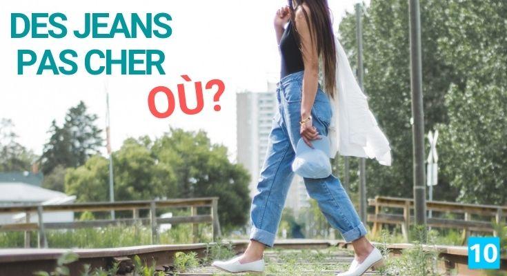 Où acheter des jeans de marque pas cher?
