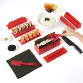kit pour préparer des sushis