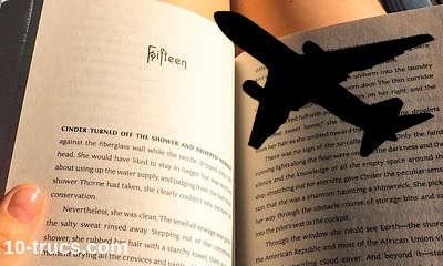 lecture en avion pour s'endormir