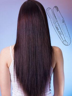 Comment lisser les cheveux naturellement?