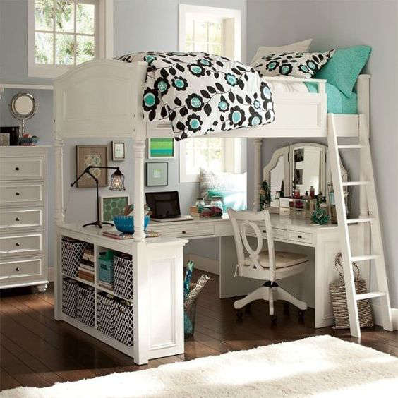 10 trucs pour am nager une petite chambre. Black Bedroom Furniture Sets. Home Design Ideas