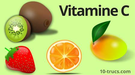 vitamine C pour le mal de gorge