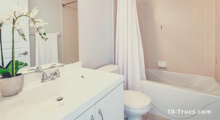 Comment enlever la mauvaise odeur dans la salle de bain