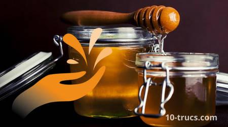 avoir les mains douces avec le miel