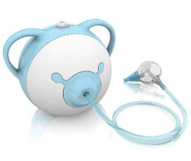 mouche bébé électrique pour décongestionner le nez de bébé