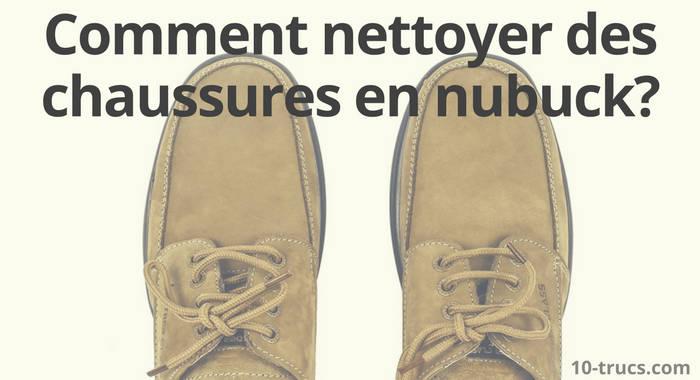 nettoyer des chaussures en nubuck