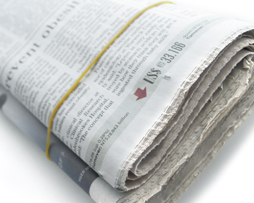 papier journal, papier journal fenêtre,