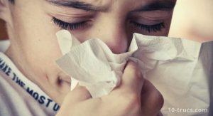 nez qui coule, comment stopper l'écoulement nasal