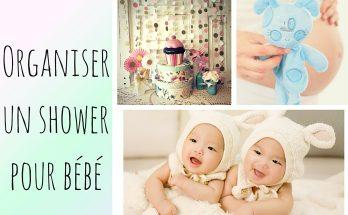 organiser un shower de bébé