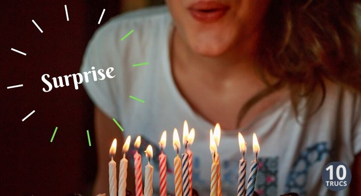 Organiser un anniversaire surprise