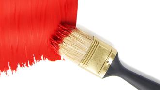 truc nettoyage pinceau, nettoyer pinceau peinture,