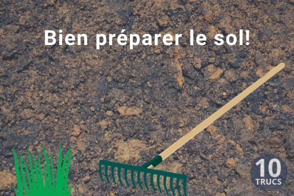 Bien préparer le terrain pour la pelouse