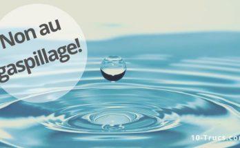 comment réduire sa consommation d'eau