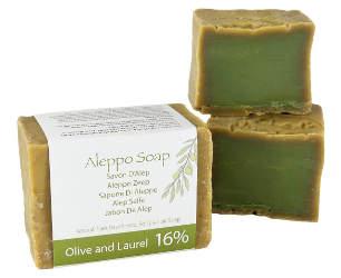 savon d'Alep pour peau sensible