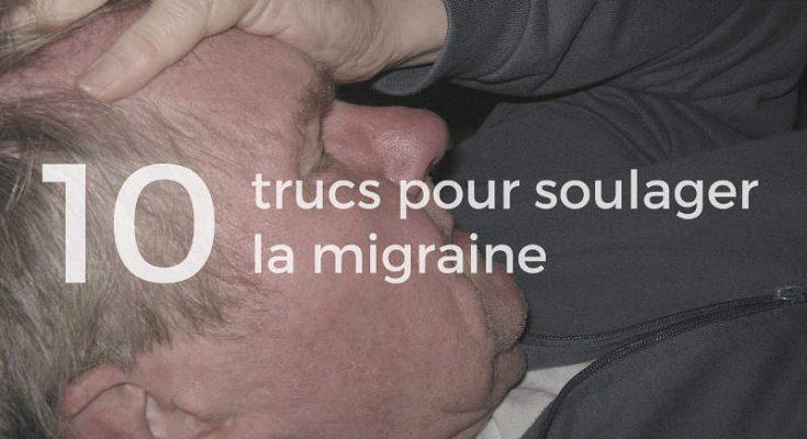Truc pour soulager la migraine