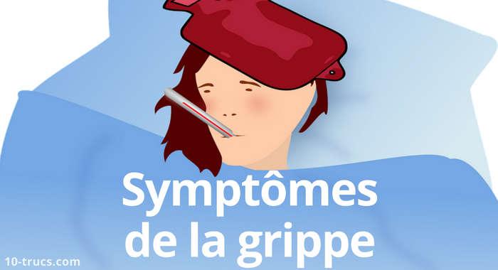 symptômes de la grippe, causes grippes,