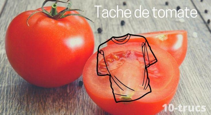 astuce pour enlever une tache de tomate sur un vêtement
