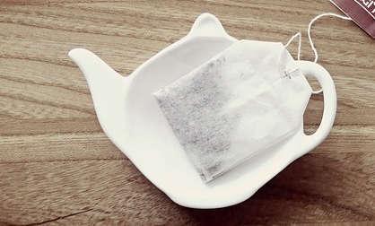 Sachet de thé pour les yeux bouffis