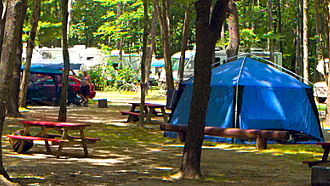 camping old orchard, terrain de camping old orchard,