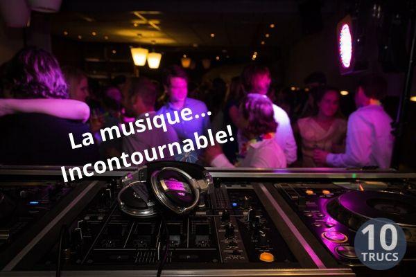DJ pour une fête d'anniversaire