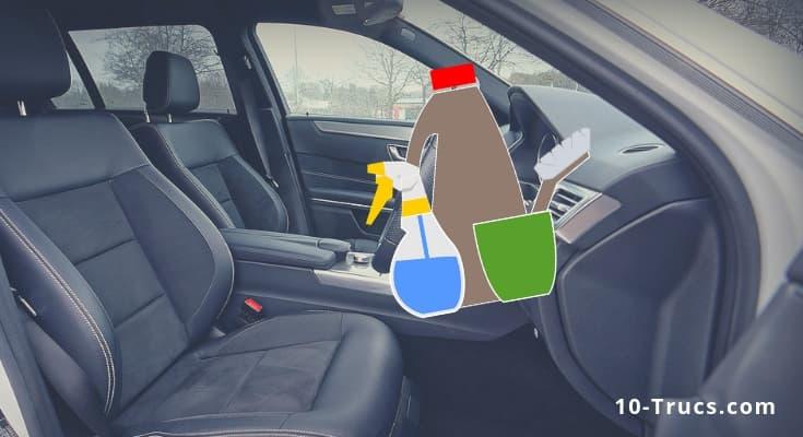 Nettoyer les sièges de voiture