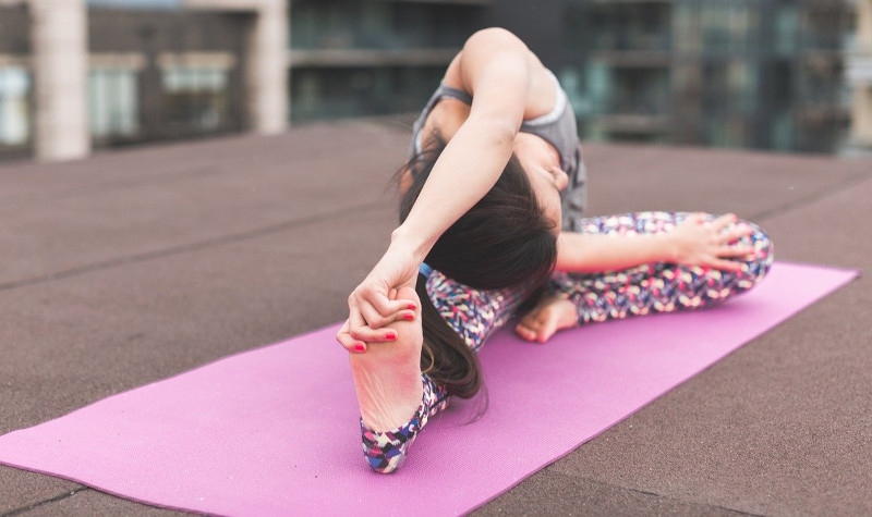 Exercice pour étirer le corps