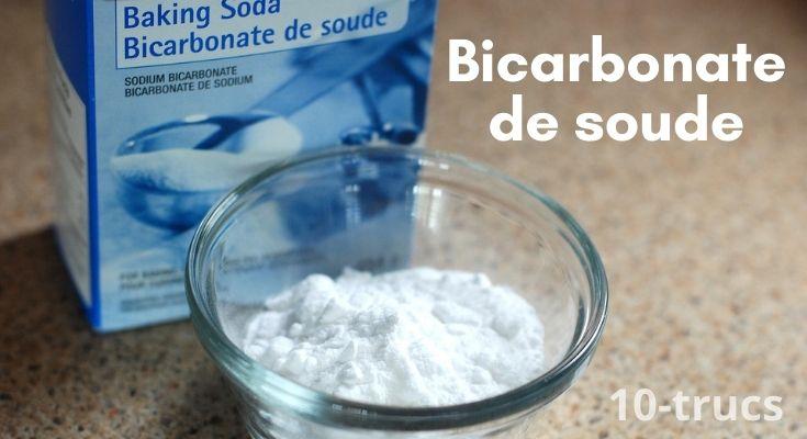 Comment utiliser du bicarbonate de soude