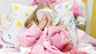 rhume enfant, soigner rhume enfant,